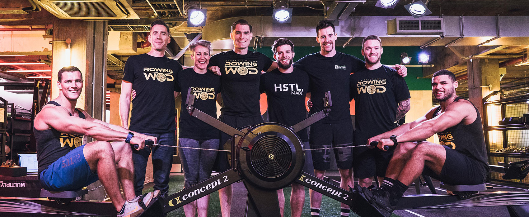 RowingWOD indoor erg training programme